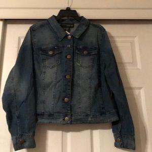 Venezia denim jean jacket size 18 by Lane Bryant